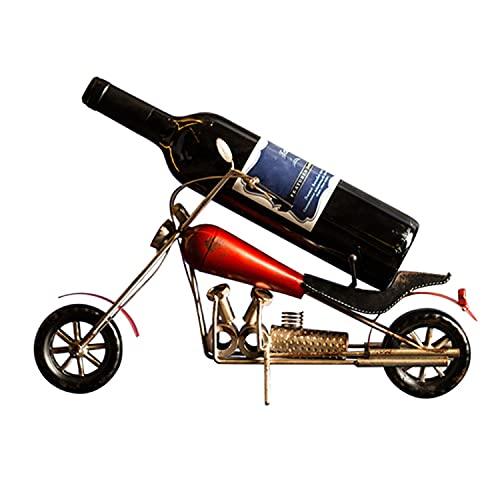 Estante De Vino Decorativo De Motocicleta Vintage, Decoración De Estante De Vino De Estilo Industrial, Estante De Botella De Vino De Gabinete De Vino De Porche De Bar Creativo, Adecuado Para Vino