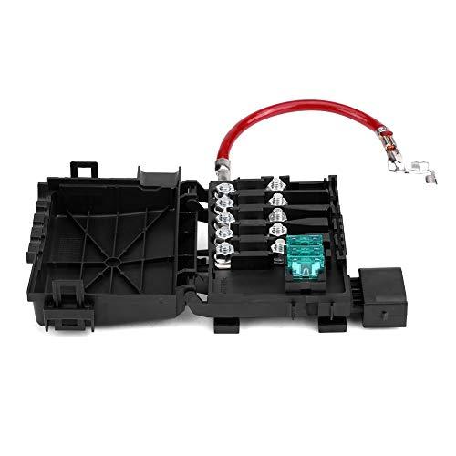 Caja de Fusibles de Batería - BiuZi Cubierta de Protección Impermeable for Terminales Mk4 99-04 1J0937550A de la Caja de Fusibles de Batería 5 Vías de Car