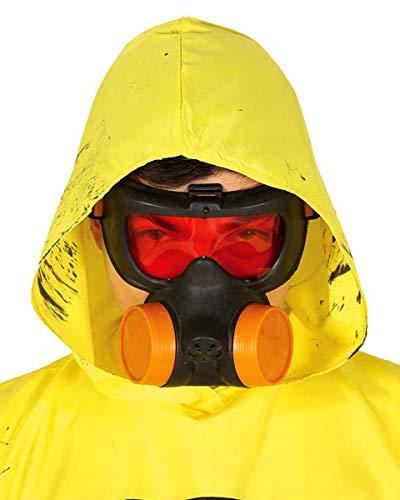 Horror-Shop Atemschutz Gasmaske für Seuchenschutz Kostüme