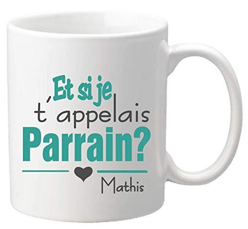 Mug - Et si je t'appelais Parrain - Baptême et Communion