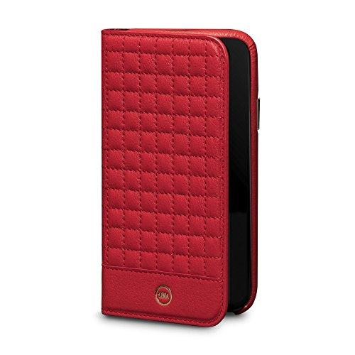 Sena - Custodia a portafoglio per iPhone X, colore: Rosso