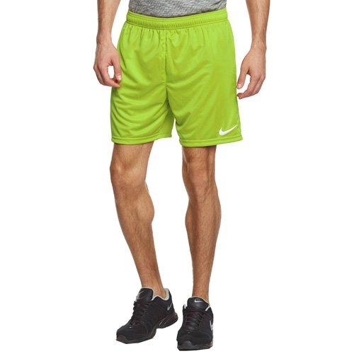 Nike Nike Herren Park II Knit Shorts ohne Innenslip, Grün (Aktion Grün/Weiß/350), Gr. S