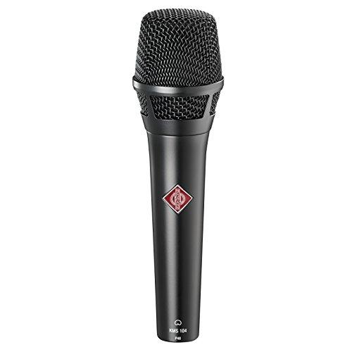 Neumann KMS104BLACK - Kms104 microfono cardiode vocalista - directo negro