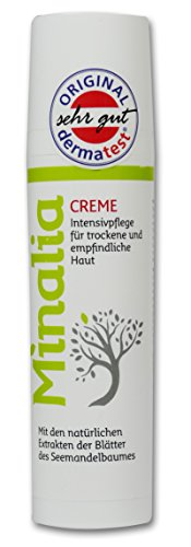 Minalia Creme 75 ml, neuer Wirkstoff zur unterstützenden Pflege bei Neurodermitis, Schuppenflechte und trockener Haut