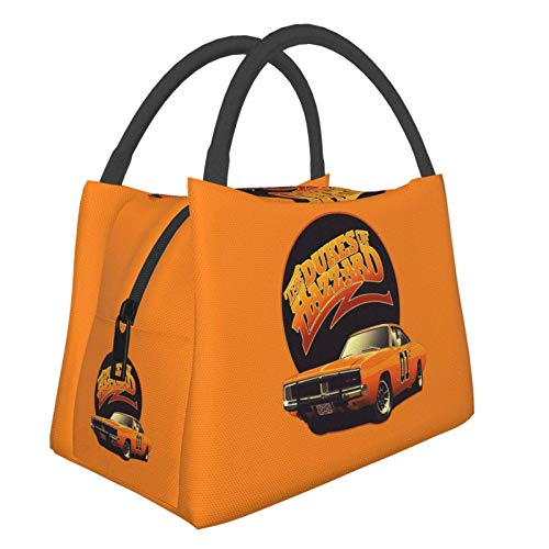 The Dukes of Hazzard Woman Lunch Bag Tote Lunch Storage Small Handbag,Shopping Office/School/Picnic/Travel/Camping