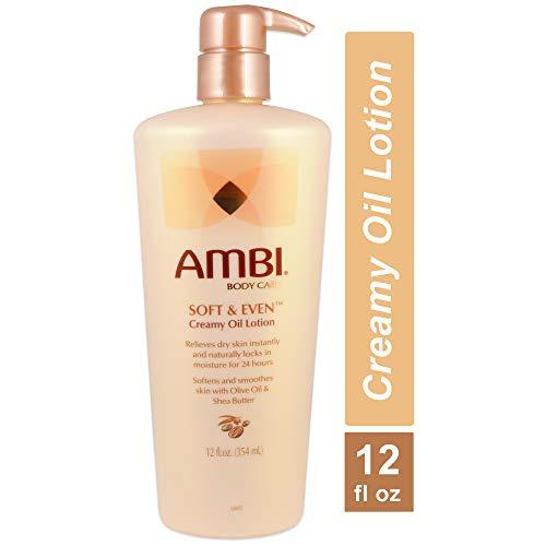 AMBI SOFT & EVEN Creamy Oil Lotion 12oz (354ml)