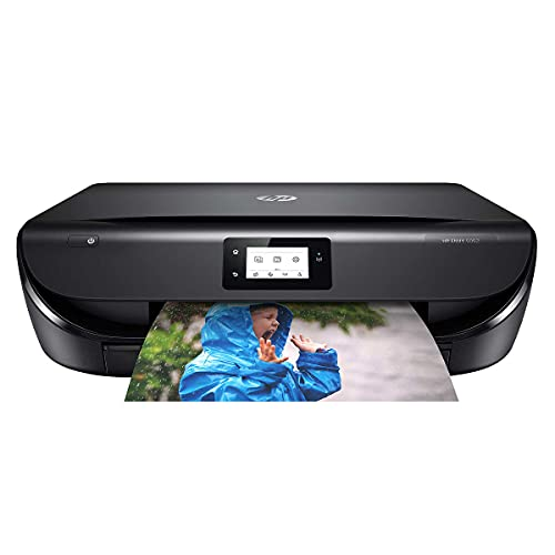 HP OfficeJet 5052 All-in-One Printer with Mobile Printing, Instant Ink Ready, Standard Ink Included (Renewed)