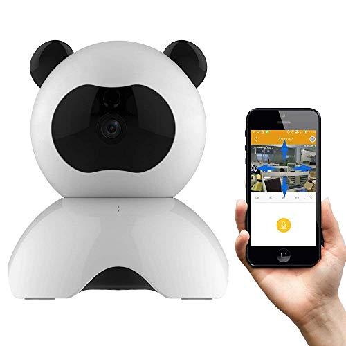 MRXUE Baby Monitor - Draadloze Beveiliging Dome Camera - Huisdier Camera - Die verbinding maken met iPhone Android WiFi Home Camera Gratis Geef SD-kaart: 32G