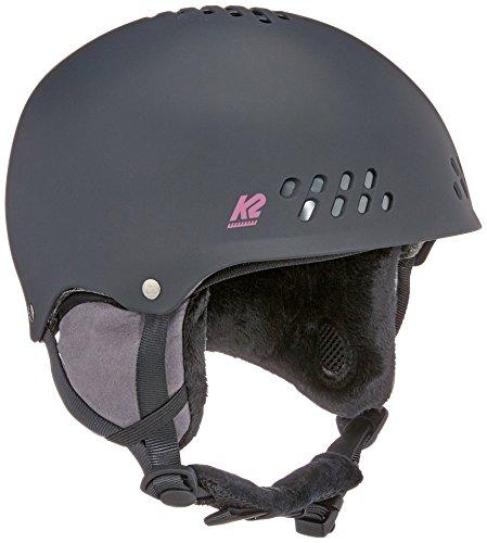 K2 Skis dames skihelm Emphasis zwart 1054008.2.1 snowboard snowboardhelm hoofdbescherming protector