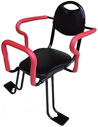 Fahrrad-Baby-Fond-Kind-Kind-Sicherheits-Trage Universal-Fahrradgepäckträger-Baby-Kleinkind-Sitz mit Rückenlehne Fußpedale