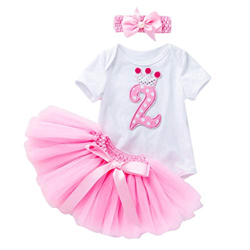 Kids Meisjes Romper Outfits Baby Meisje Playsuits Bodysuit + Tule Tutu Rok Leggings Carnaval Kostuums Feestkleding Dans Tutu Pettiskirt Prinses Jurk Fancy Outfit Leeftijd 0-24 Maanden