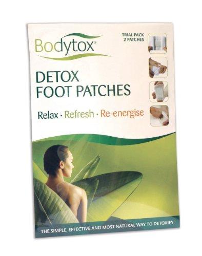 Bodytox Detox Fußpflaster zur Entgiftung, Probierpackung, 2 Stück