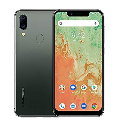 "UMIDIGI A3X Unlocked Cell Phones 2020, 3GB +16 GB Android 10 5.7"" Incell Mobile Phone, 2 Nano SIMs+Micro-SD, 16MP+5MP+12 MP AI Selfie Camera, Dual 4G Volte, 3300mAh, AI Face Unlock by UMIDIGI"