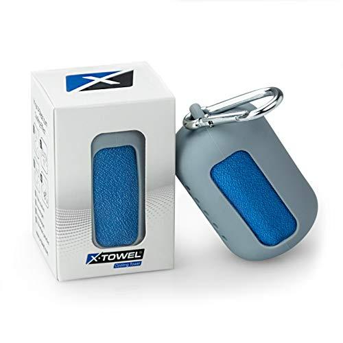 POLYCLEAN X-Towel 2X Fitnesshandtuch mit Kühleffekt - Sporthandtuch aus Microfaser - Kühlhandtuch...