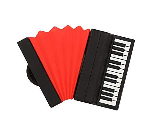 Cartoon U-Disk, Disk Mini kreative Persönlichkeit schönes 8GBU Klavier Schwarze und rote Gitarre Tonerzeugung Geschenk