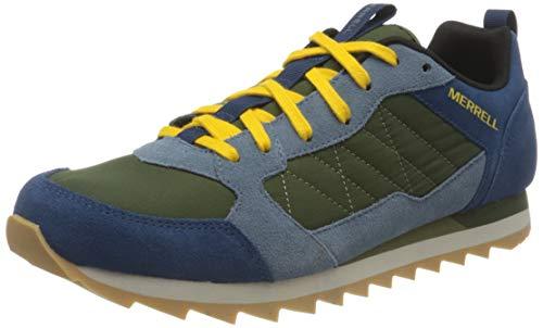 Merrell Alpine Sneaker, Zapatillas Hombre, Azul (Poseidon), 46 EU