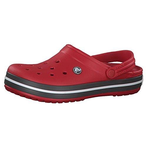 Crocs Unisex-Erwachsene Crocband Clogs, Pepper, 38/39 EU
