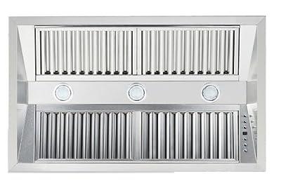 ZLINE 34 in. 1200 CFM Range Hood Insert in Stainless Steel (721-34)
