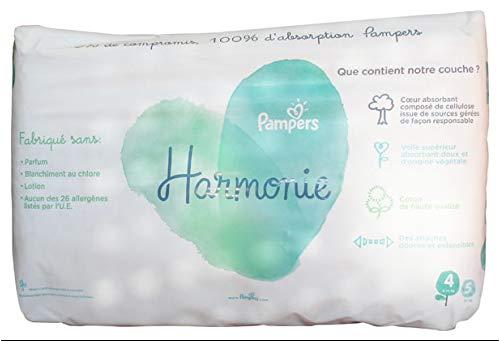 Pampers Harmonie - Pañales (talla 4, 40 unidades, 9-14 kg)