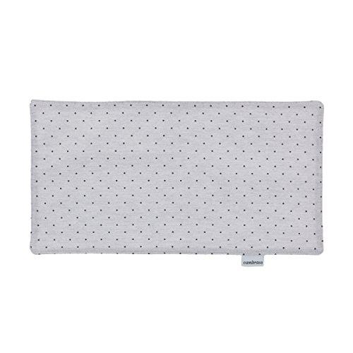 Cambrass Stela - Seca babas, 29.5 x 15.5 cm, color gris/mota