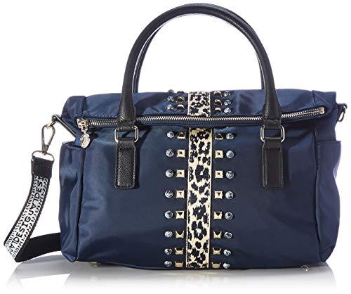 Desigual Accessories Fabric Hand Bag, Mano Mujer, azul, U