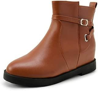 BalaMasa Womens ABS13862 Pu Boots