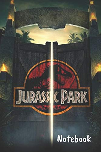 """Jurassic Park Notebook: Blank lined notebook, Journal Or a Diary To Write Down Ideas, Follow up, projects for women, men & children have Durable 6"""" x 9"""" inches 120 pages (lined notebook)"""