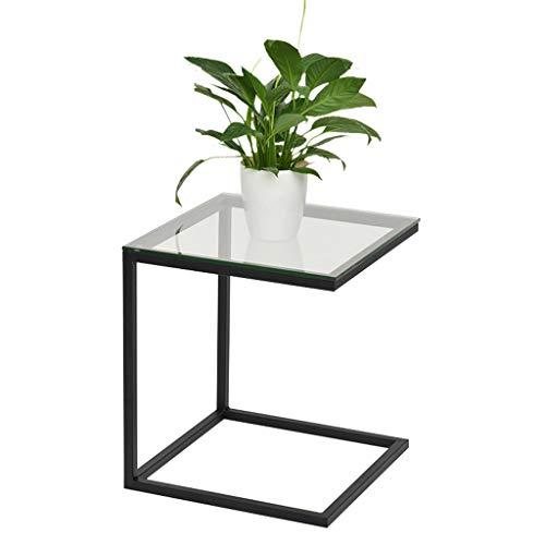 Nordic Fer Forgé Canapé Table Basse Salon Simple Mini Table Basse Petit Carré Table Chambre Table De Chevet