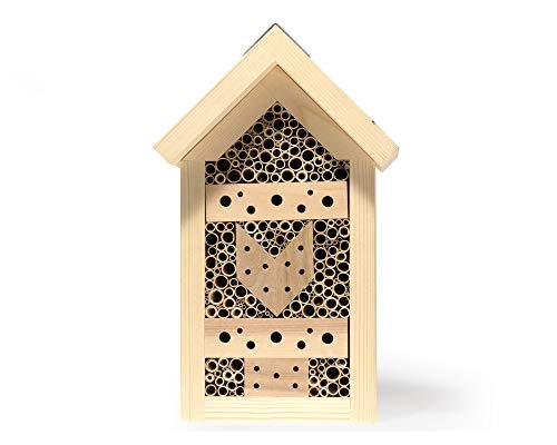 YAKEBA | Insektenhotel | Schilf | Made in Germany | aus einheimischem Holz