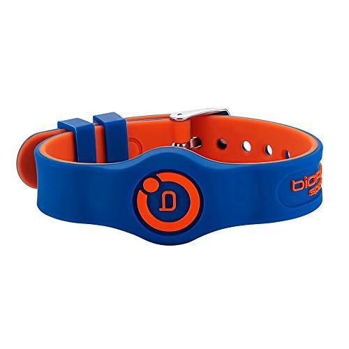 Bioflow Sport Flex Adjustable Magnetic Therapy Wristband - Blue/Orange