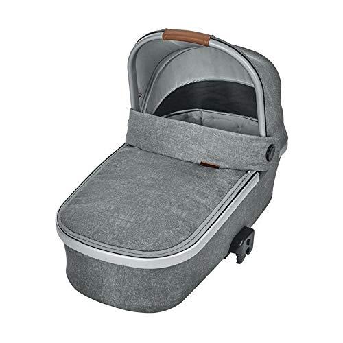Maxi-Cosi Oria Babywanne, groß, bequem und federleichter Kinderwagenaufsatz, geeignet für Maxi-Cosi-Kinderwagen/Buggys, nutzbar ab der Geburt - 6 Monate, (ca. 0-9 kg), nomad grey (grau)