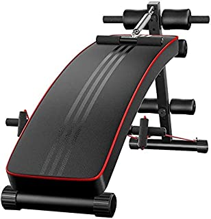 AOHMG Weight Bench Adjustable, Foldable Press Exercise Gym Bench Sit Up Incline Abs Benchs Decline Bench, for Weightliftin...