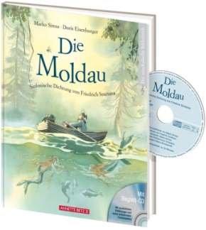DIE MOLDAU - SINFONISCHE DICHTUNG VON FRIEDRICH SMETANA - arrangiert für Buch - mit CD [Noten / Sheetmusic] Komponist: SIMSA MARKO + EISENBURGER DORIS