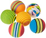 Arquivet Pelota Multicolor - Pelotas de Juguete para Gatos - Accesorios para felinos - Pelotas llamativas para Gatos - Juegos para Gatos - 3,5 cm (Bolsa 6 uds.)