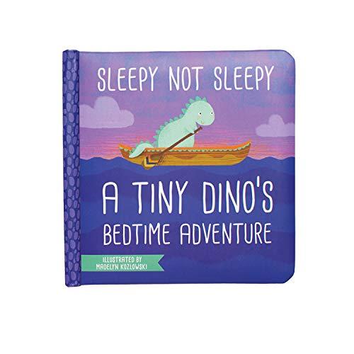 Manhattan Toy Sleepy Not Sleepy - Livre de Jeux D'aventure sur Le Coucher d'un Petit Dino, 6 Mois et Plus