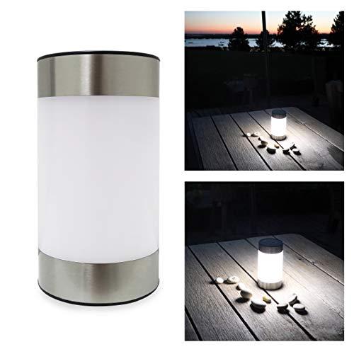 Frostfire Lazesol - Lampada solare da giardino e da tavolo