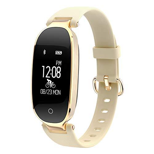 Luoshan S3 0.96 Pulgadas OLED Display Bluetooth Sports Smart Bracelet, IP67 Impermeable, Soporte Monitor de Ritmo cardíaco/Trayectoria GPS/Podómetro/Recordatorio de Llamadas/Recordatorio seden