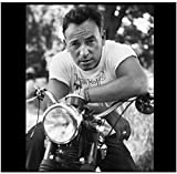 pujiaoshang Bruce Springsteen Poster e Stampe in Bianco e Nero Wall Art Canvas Painting Home Wall Decor Art Poster Stampa su tela-50x70cm Senza Cornice
