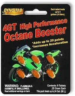 Dyno-tab 4GT HP Octane Booster 6-tab Card (Dynotab)