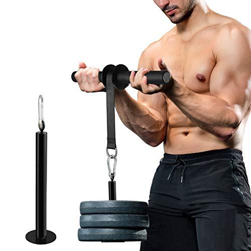 Pellor Wrist Forearm Unterarm Blaster Roller Back Training Stärkung Anti-Rutsch-Trainer Arm Krafttraining Fitnessgeräte Home Gym Trizeps Erweiterungen Fitness-Trainingsgeräte
