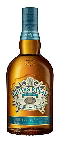 Chivas Regal Mizunara Whisky Escocés de Mezcla Premium Whisky Japonés - 700 ml