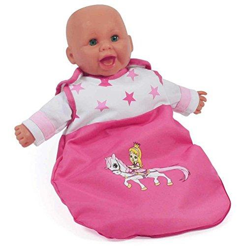Bayer Chic 2000 794 89 Puppen Bola, Schlafsack für Babypuppen, Pony & Princess, Pink