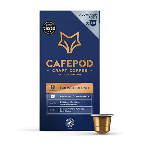 CAFEPOD Craft Coffee Nespresso Compatible Aluminium Pods - Parent