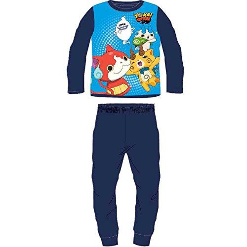 YO Kai watch Pijama Polar Conjunto 2 Pijama YO Kai Azul
