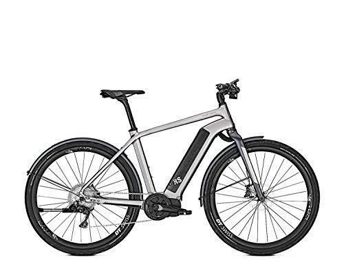 Kalkhoff INTEGRALE I11 LTD RS 11G 17,0AH 36V 2018 City Trekking E-Bike, Color Silver/blackm, tamaño 45