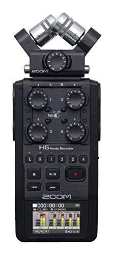 H6 All Black Handheld Recorder (Renewed)