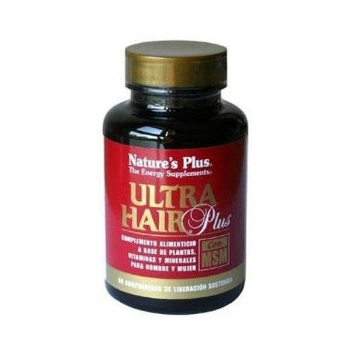 Ultra Hair Plus con Msm 60 comprimidos de Nature's Plus