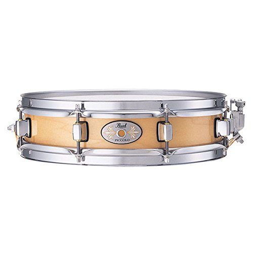 Pearl M1330102, Maple Piccolo Snare Drum, 6 ply, Natural Maple