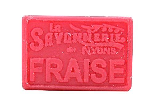 La Savonnerie de Nyons Strawberry rechteckig Seifen 100Gramm, Multi/Farbe, eine Größe