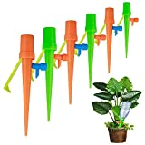 lynn 12pcs Adjustable Automatic Watering System for Potted Plants,Flower Drip Irrigation System